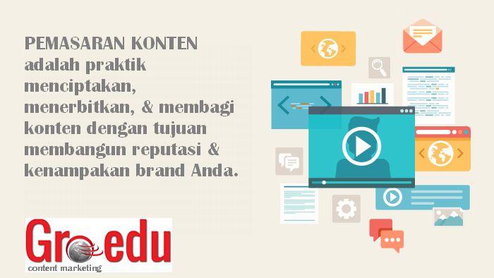 Pemasaran Konten oleh Groedu